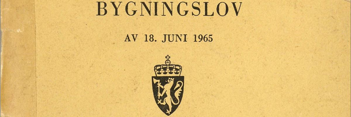 Bygningsloven 1965