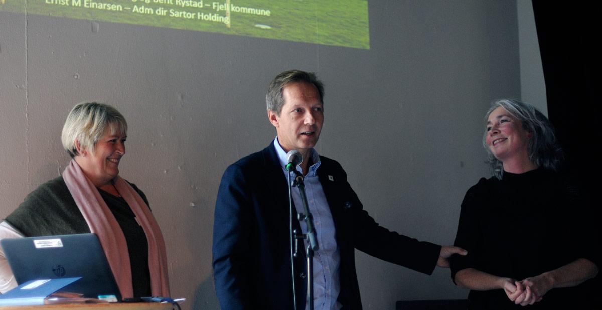 Ernst Morten Einarsen og Berit Karin Rystad