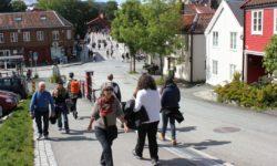 Bakklandstorget: Torvet er eneste byrom med mer folkevrimmel enn på Bakklandstorget i Trondheim.